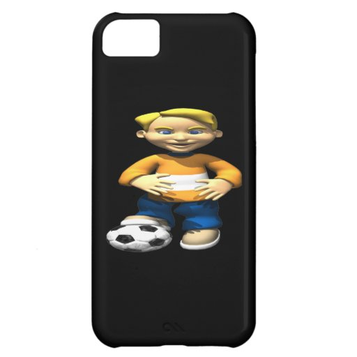 Soccer Kid Cover For iPhone 5C