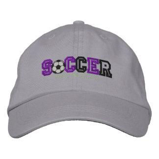 Soccer Kid Embroidered Baseball Cap