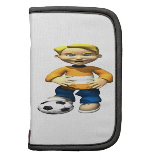 Soccer Kid Folio Planner