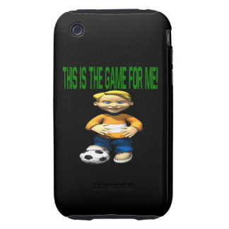 Soccer Kid iPhone 3 Tough Cover