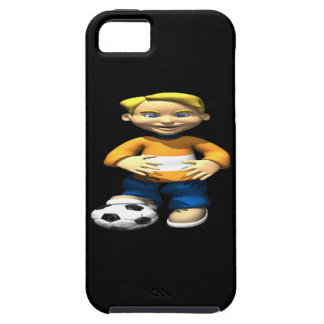 Soccer Kid iPhone 5 Covers