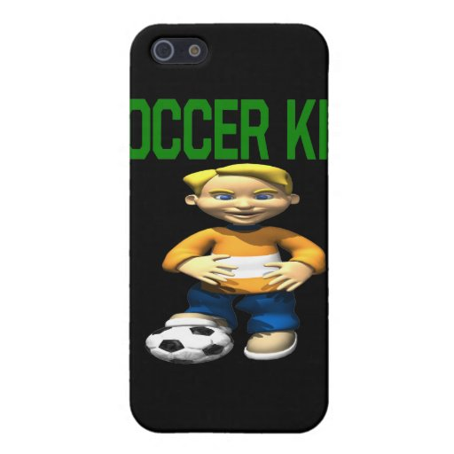 Soccer Kid Cover For iPhone 5