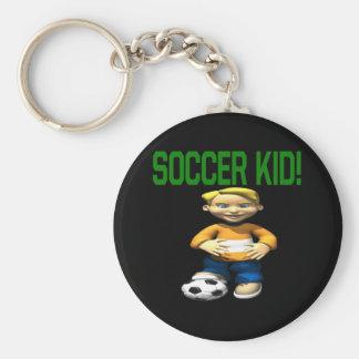 Soccer Kid Key Chain