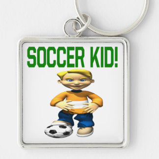 Soccer Kid Keychains