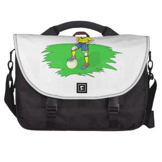 Soccer Kid Laptop Bag