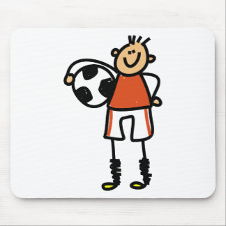 Soccer Kid Mouse Pad