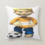 Soccer Kid Pillow