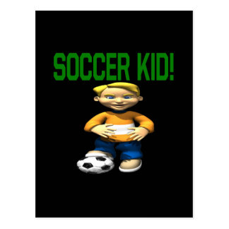 Soccer Kid Post Cards
