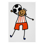 Soccer Kid Posters