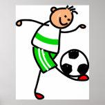 Soccer Kid Print