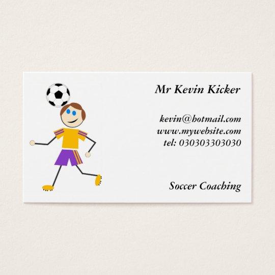 Soccer Kids Business Card