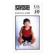soccer kids postage