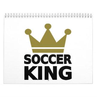 Soccer king wall calendar