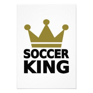 Soccer king invitation
