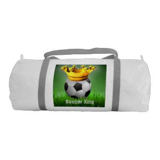 Soccer King Soccer Ball Crown Duffle Bag