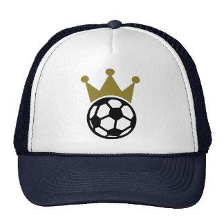 Soccer king trucker hat