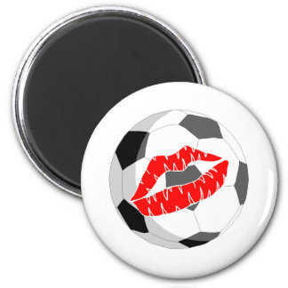 Soccer Kiss Magnets