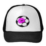 Soccer Kiss (Pink) Hat