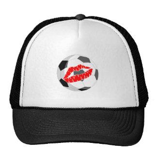 Soccer KIss (Red) Trucker Hat