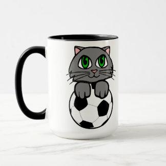 Soccer Kitten Mug
