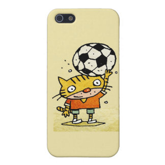 Soccer Kitty iPhone 4G iPhone 5 Case