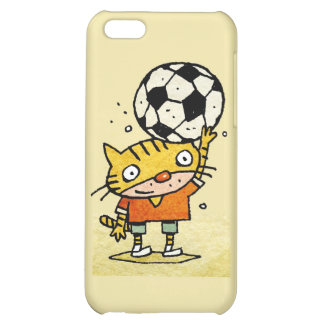 Soccer Kitty iPhone 4G Cover For iPhone 5C