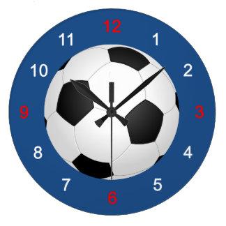 Soccer Large Clock