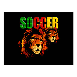 Soccer Les Lions football fans gifts Postcard