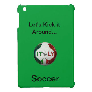 Soccer Let's Kick it Around... Cover For The iPad Mini