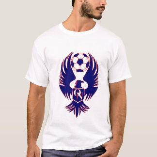 Soccer Logo Red/Blue T-Shirt