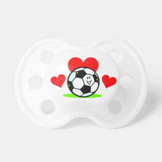 Soccer Love Baby Pacifier