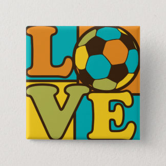 Soccer Love Button