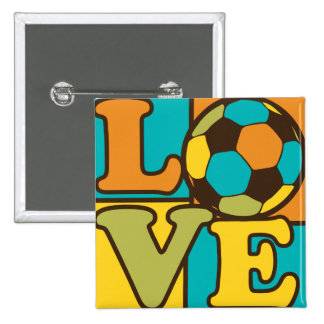 Soccer Love Pins