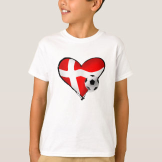 Soccer love Danish style for denmark fans T-Shirt