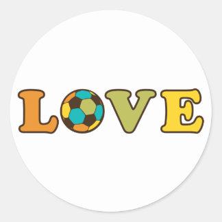 Soccer Love Sport Stickers