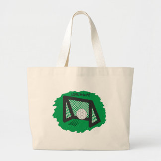 SOCCER - LOVE TO BE ME TOTE BAGS