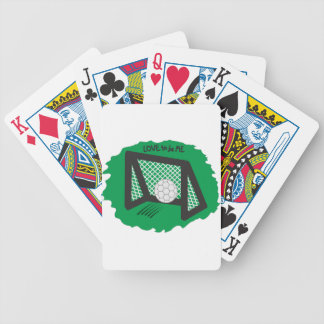 SOCCER - LOVE TO BE ME BICYCLE PLAYING CARDS