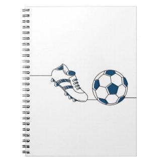 Soccer lover | Soccer ball Spiral Notebook