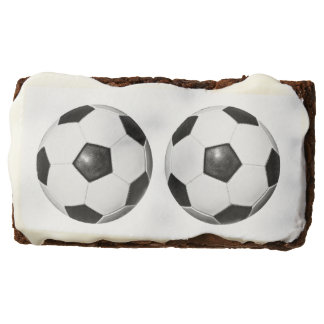 Soccer Lover Theme Party Brownies