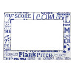 Soccer Lovers Magnetic Picture Frame