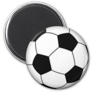 Soccer Magnet 2 Inch Round Magnet