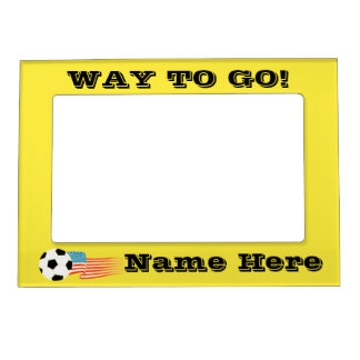 Soccer Magnetic Photo Frame
