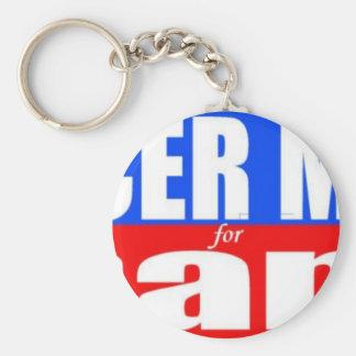 Soccer Mama for Obama Basic Round Button Keychain
