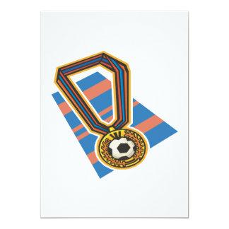 Soccer Medal Card