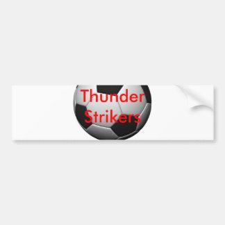 Soccer Merchandise Car Bumper Sticker