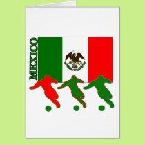 Soccer Mexico Card