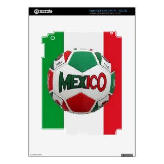 Soccer Mexico Rio Brazil iPad 3 Skins