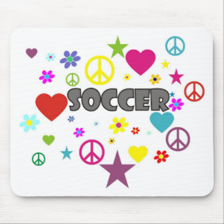 Soccer Mixed Graphics Mouse Pad