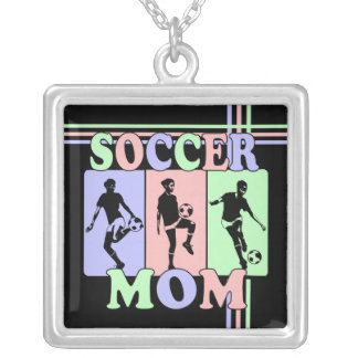 Soccer Mom Award Gift Necklaces