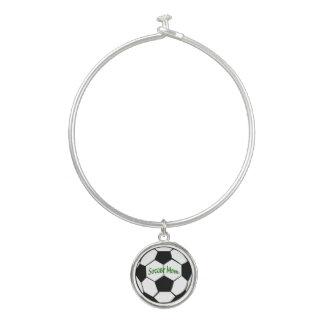 Soccer Mom Bangle Bracelet